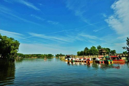 西安将大力建设渼陂湖 创建国家级旅游度假区