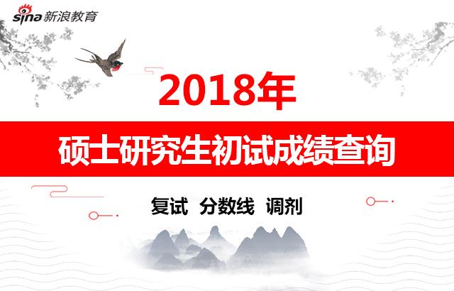 2018考研初试成绩查询
