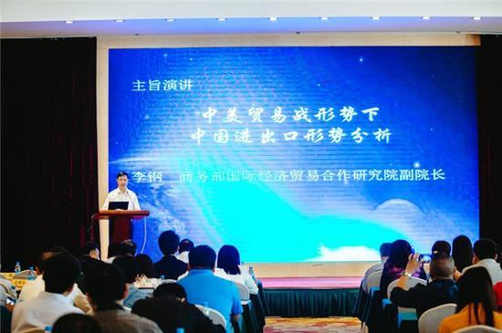 商务部国际经济贸易合作研究院李钢副院长主题演讲