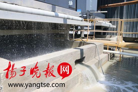 四标段泥水分离后水质可达三类水排放标准