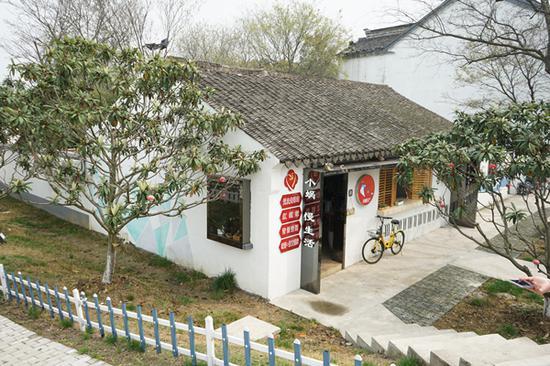 汪萍萍改造后的茶馆