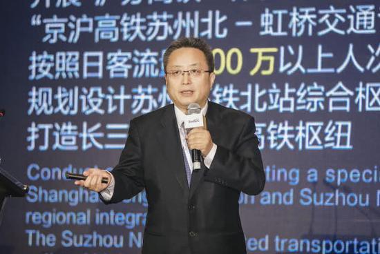 相城区委书记顾海东作创新创业环境推介