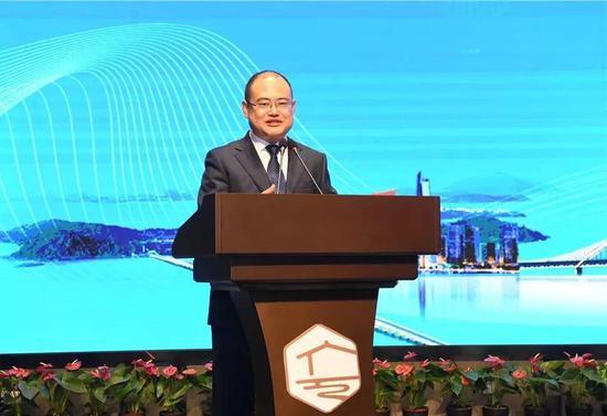 ▲苏州安洁科技股份有限公司董事长王春生先生致辞