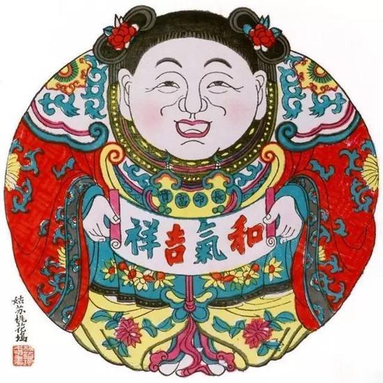 桃花坞是江南最大的年画刻印中心之一