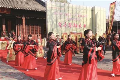 姑苏乐舞展示。