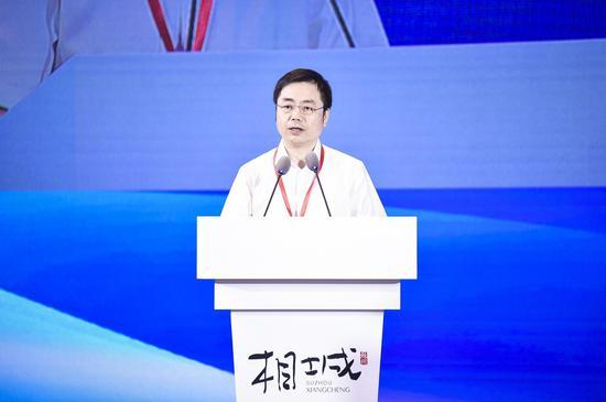 四川省人民政府办公厅副主任胥云致辞