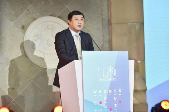 姑苏区委副书记、区政府区长徐刚先生致辞