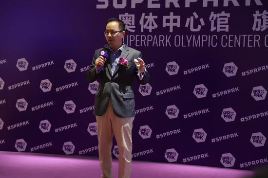 总领事,SuperPark代表,参会领导,孩子们一起体验项目