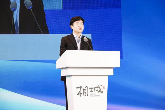成都高新区党工委委员、管委会副主任缪晓波致辞