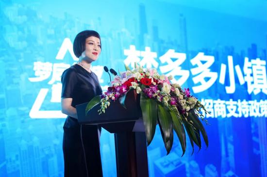 梦多多小镇商业中心总监姜燕燕女士