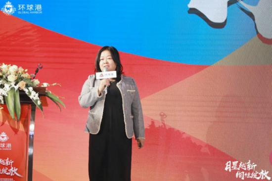 月星商业集团副总经理 徐凌云女士
