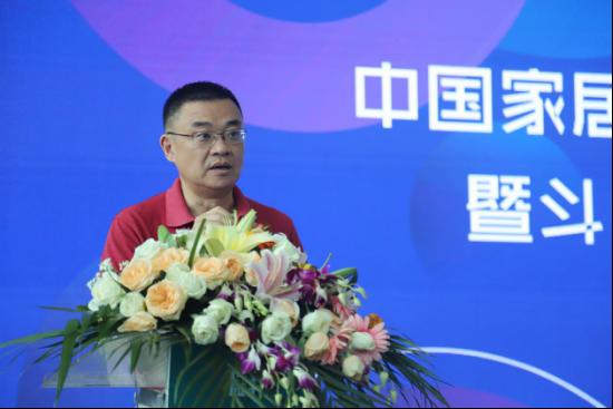 中国林产业联合会整装分会秘书长 唐人先生致辞