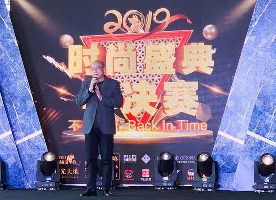 苏州电影业协会执行会长 张江林上台致辞
