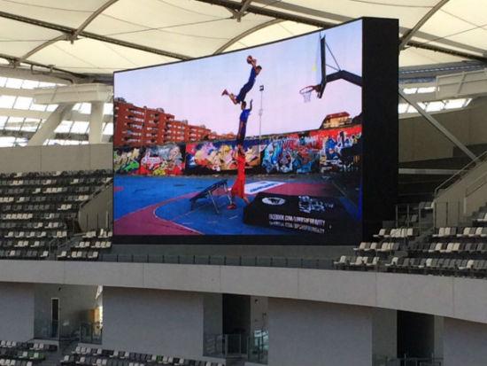 体育场内的LED屏