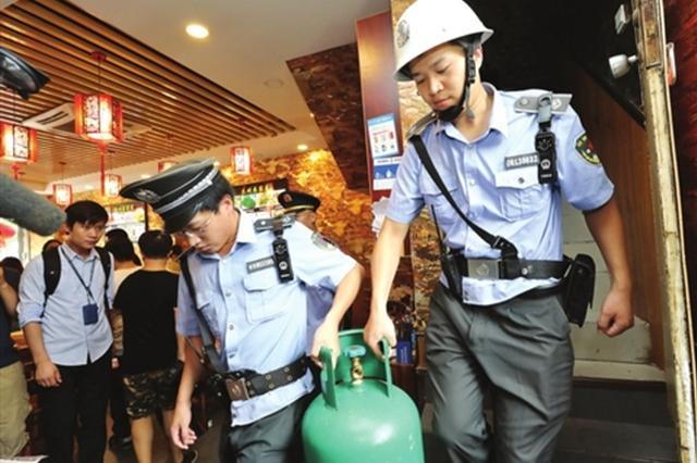 安全生产大排查:液化气装运售要全程留痕