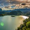 美丽的布莱德湖 一个优雅的国度