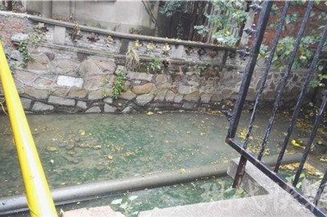 苏州大学黑水排入护城河 校方:是淤积的雨水