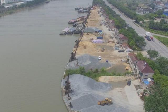 侵占宝贵岸线资源 苏州全市已取缔486家非法码头