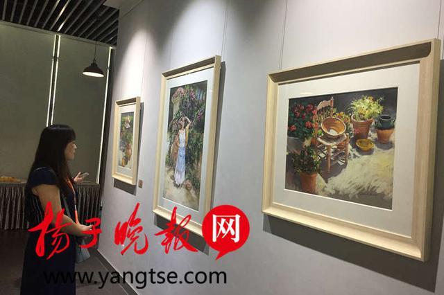 苏州明·美术馆展出西班牙艺术家48幅粉画作品