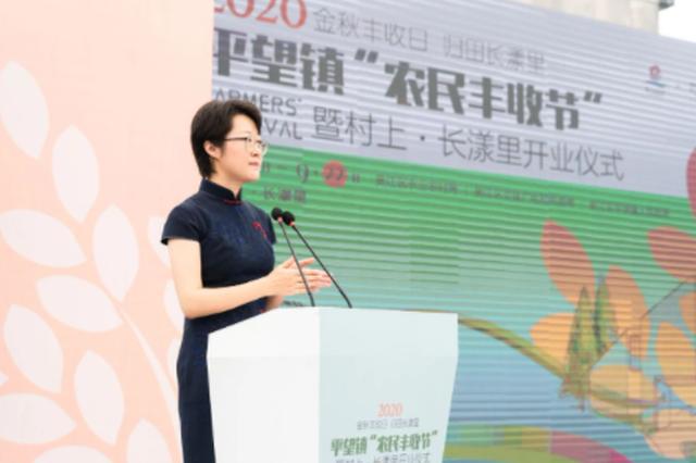 """苏州吴江平望镇举行2020年""""农民丰收节""""暨村上·长漾里开业"""