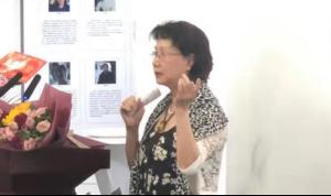 香港美术研究会顾问、著名画家 林小枝女士
