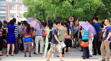 苏州25039名学子迎战高考