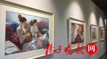 明·美术馆展出西班牙48幅粉画