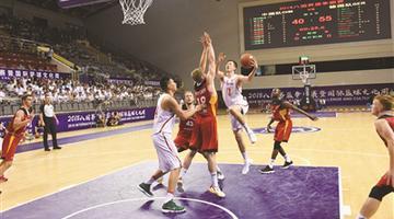八国男篮争霸苏州