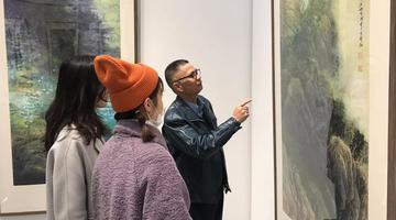 杨幸郎中国画精品展在苏州开幕