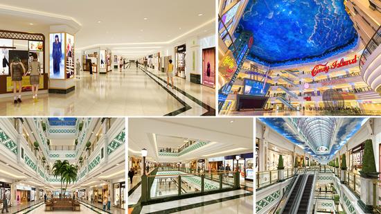 三峡环球港是华中地区首创的欧式风情一站式、全场景城市综合体