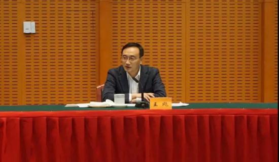 苏州市政府副市长王飏发表讲话