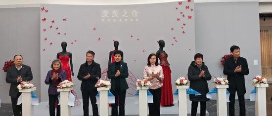 织绣云裳艺术展在苏州丝绸博物馆开幕