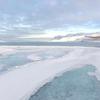 冬天的冰岛西峡湾