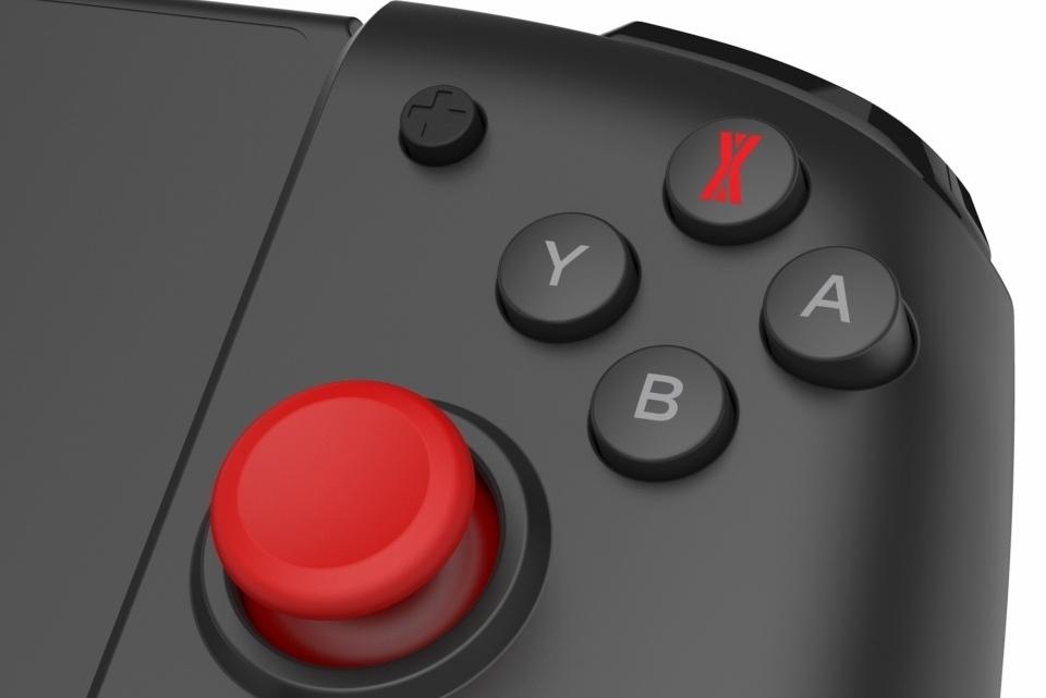 Switch全尺寸手柄 移动中也能玩出主机的手感