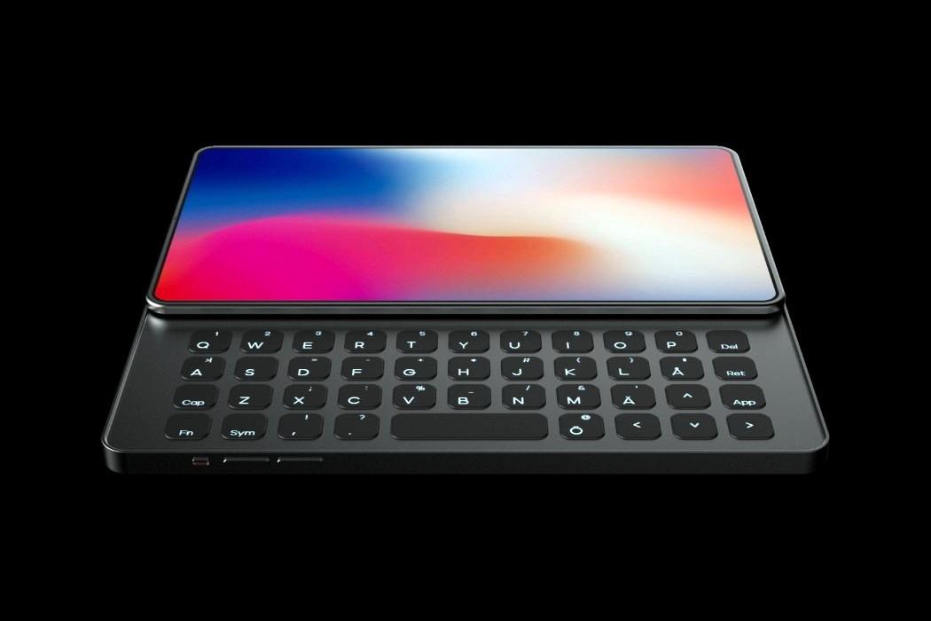 开脑洞:当iPhone有了滑盖键盘