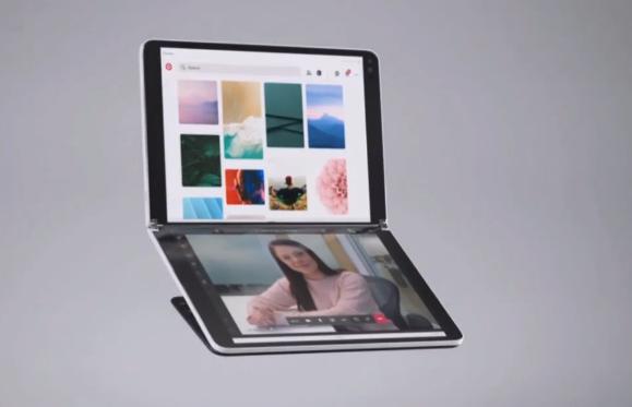 微软发布双屏电脑和折叠屏手机