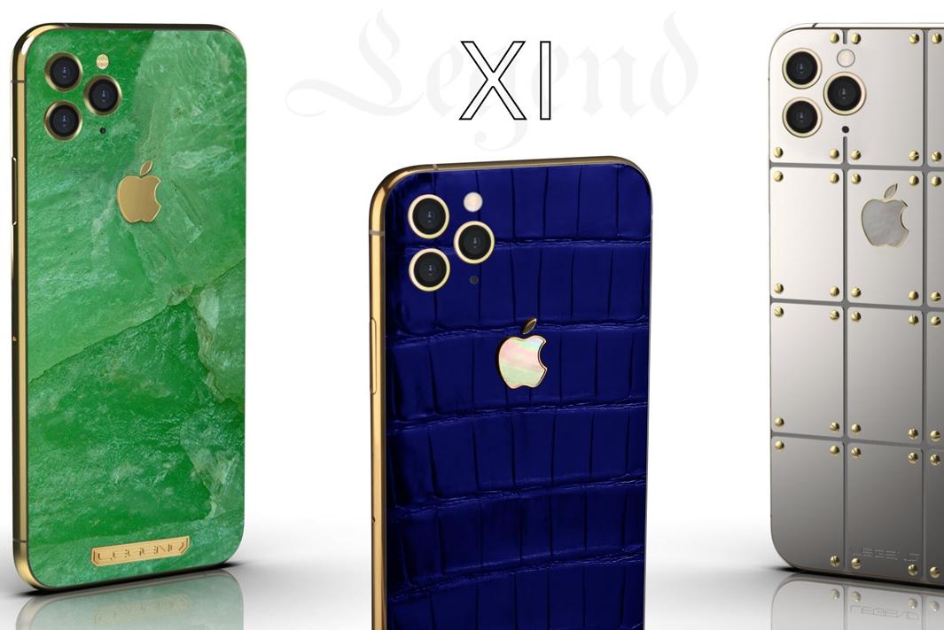 奢华版iPhone 11 Pro 售价约人民币2.6万元起