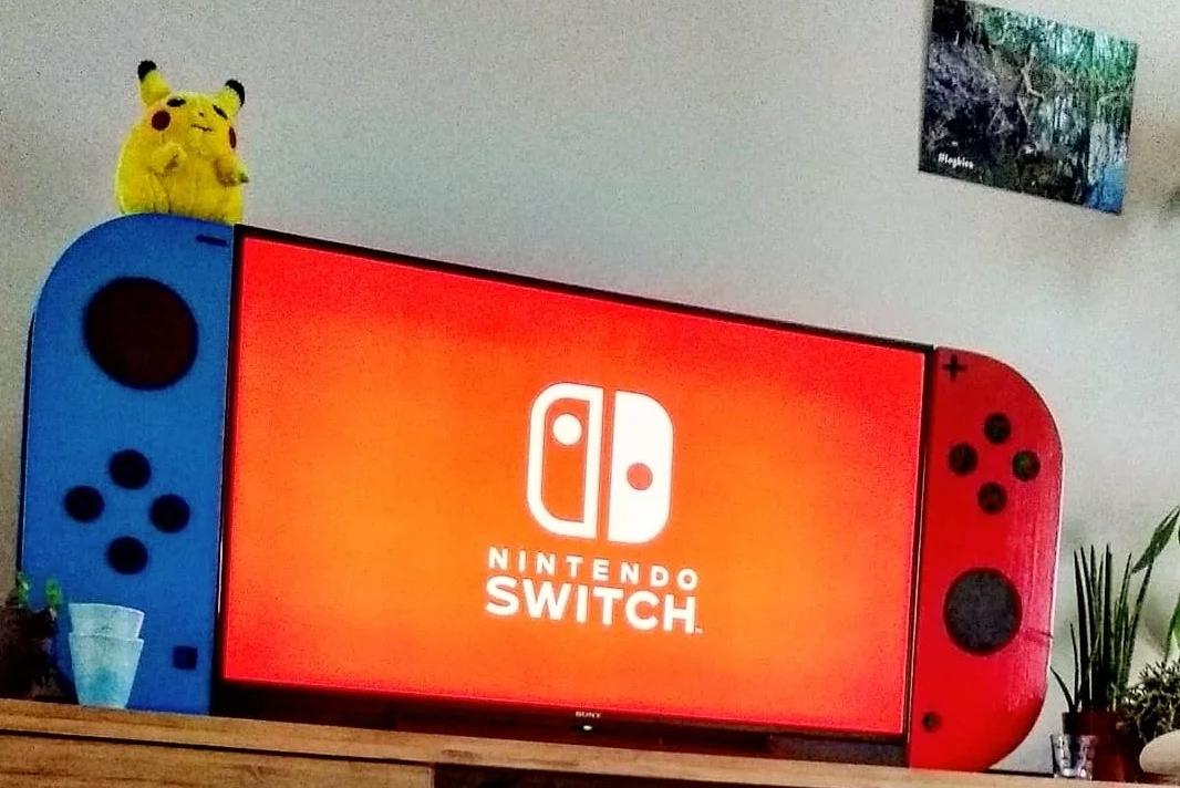"""""""任粉""""将电视变成了Nintendo Switch"""