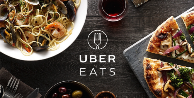为了让阿宅不出门 UberEats连无人机送餐都要用上了