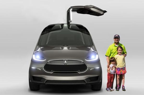 特斯拉Model S改装电动房车?它长这样