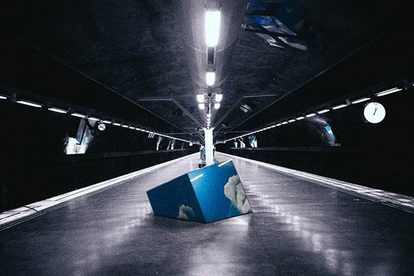虚幻朦胧的魔幻世界 手机摄影的另类玩法