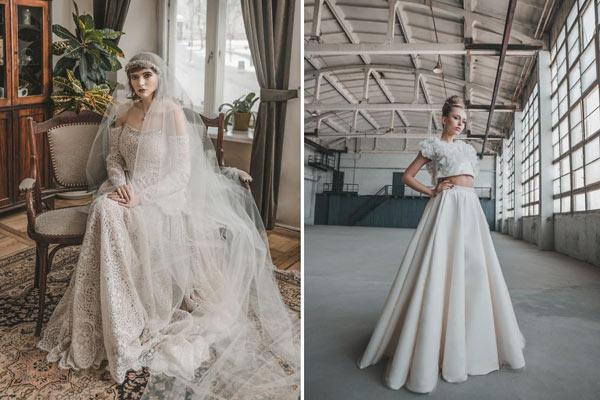 百年新娘肖像对比 流淌的时间记录新娘的装束变化