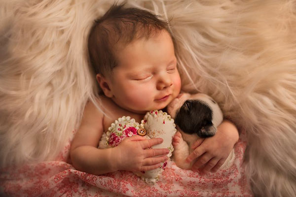 柔美光线营造绝佳氛围 宛若天使般的婴儿摄影