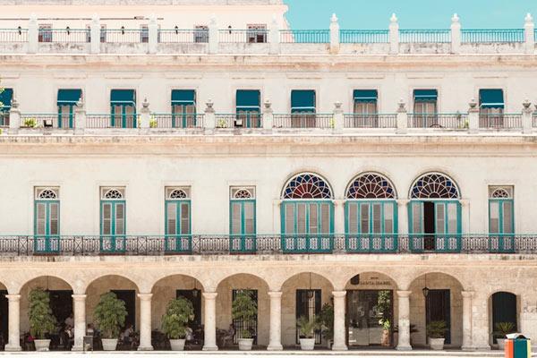 彩色的古巴 捕捉城市中糖果色调的建筑