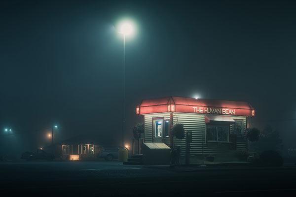 朦胧如梦 如剧照般的夜间景观
