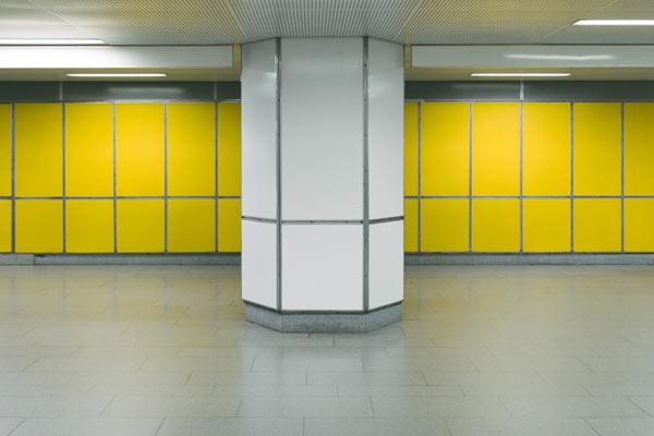 简约风格的德国汉堡地铁站 色彩与空间的碰撞