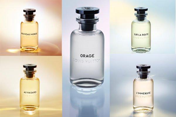 LV首个男士香水 喷了就能成为TA的梦中情人?