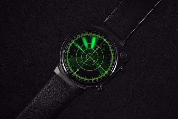 把手表做成雷达 俨然一股007间谍风袭来