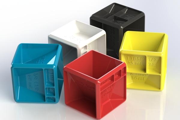 3D打印多功能 厨房计量小神器来了