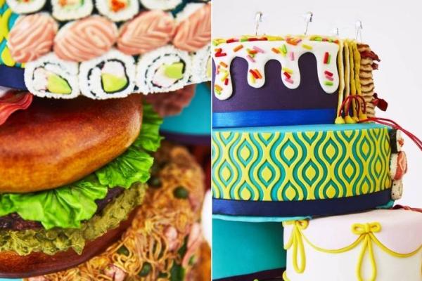 画风惊呆 世界上第一个可食用的插电生日蛋糕